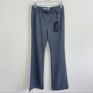 BetaBrand Heathered Metallic Gray Dress Pant Yoga